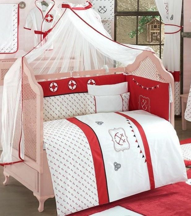 Купить Комплект постельного белья Kidboo Red Ocean цвет: стандарт, 6 предметов, арт. KIDB,
