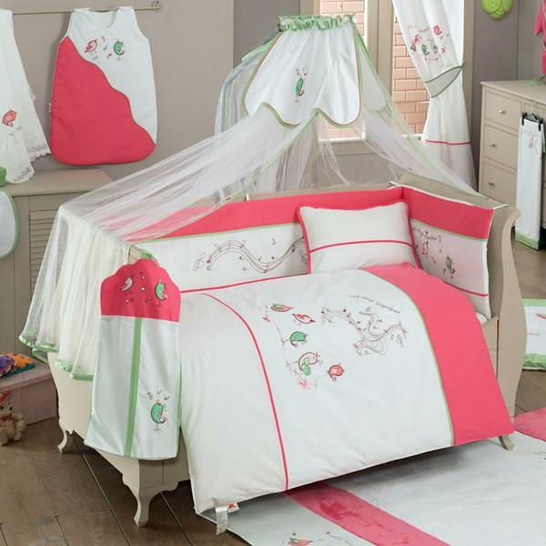 Купить Комплект постельного белья Kidboo SINGER BIRDS цвет: стандарт, 6 предметов, арт. KIDB,