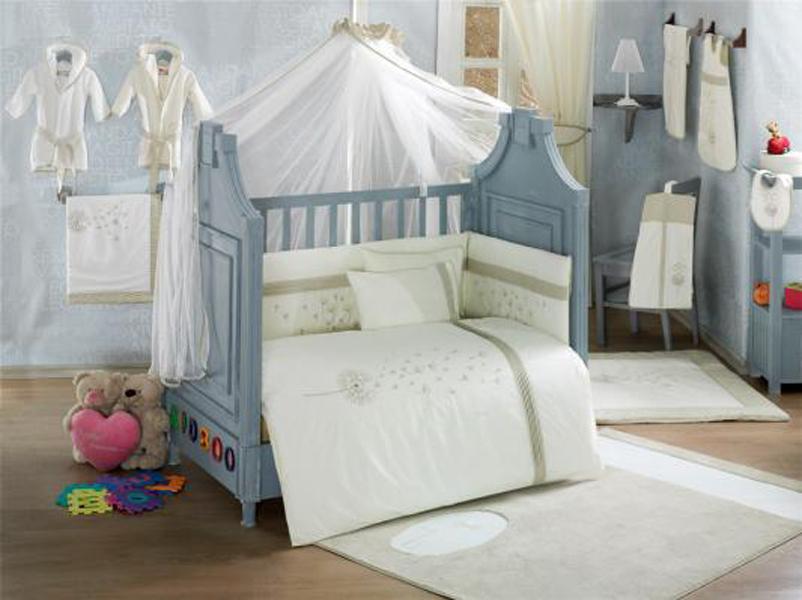 Купить Комплект постельного белья Kidboo Blossom Linen Vanilla 4 предмета, арт. KIDB,