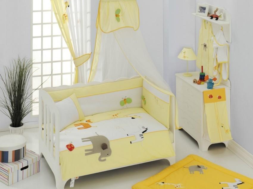 Купить Комплект постельного белья Kidboo My Animals цвет: стандарт, 4 предмета, арт. KIDB,