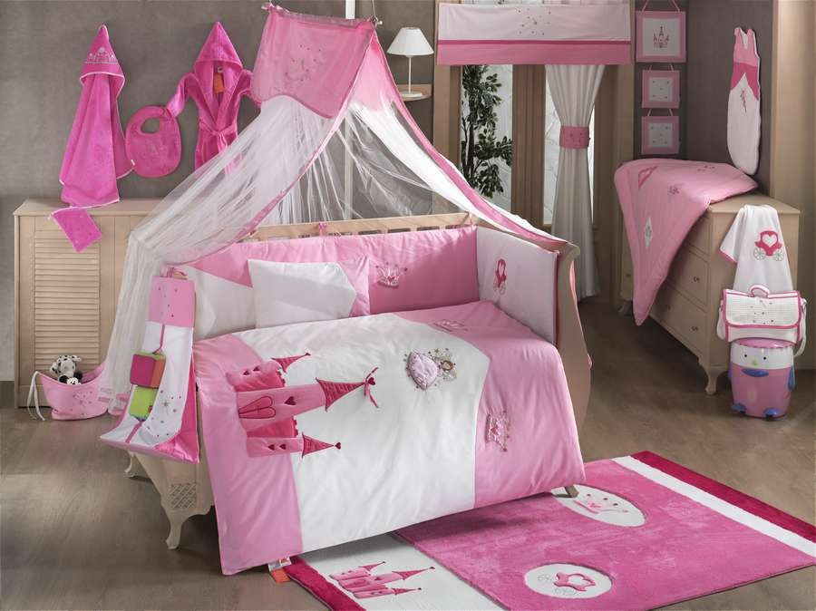 Купить Комплект постельного белья Kidboo Little Princess цвет: стандарт, 4 предмета, арт. KIDB,