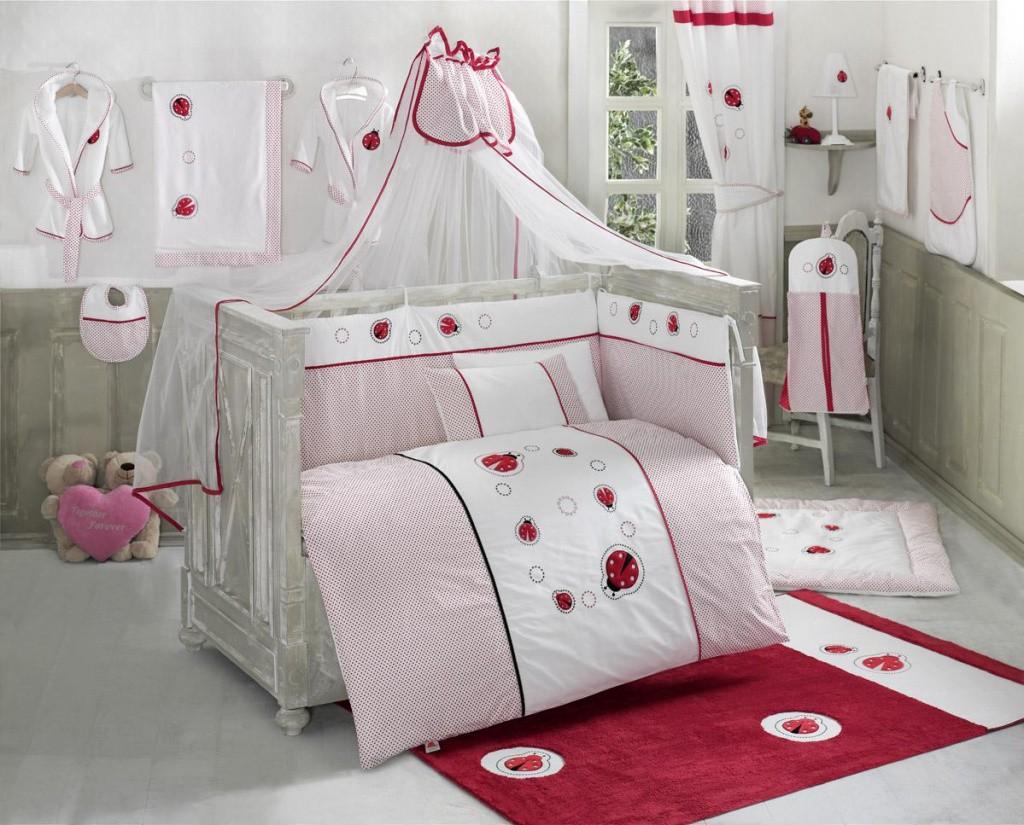 Купить Комплект постельного белья Kidboo Little Ladybug цвет: стандарт, 4 предмета, арт. KIDB,