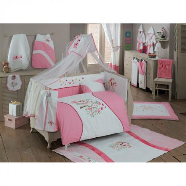 Купить Комплект постельного белья Kidboo Sweet Home цвет: розовый, 4 предмета, арт. KIDB,
