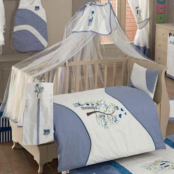 Купить Комплект постельного белья Kidboo Sweet Home цвет: голубой, 4 предмета, арт. KIDB,