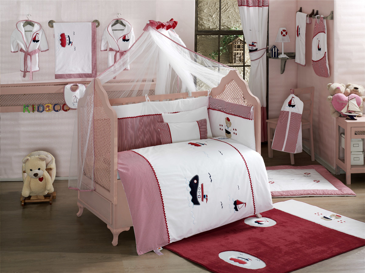 Купить Комплект постельного белья Kidboo Little Voyager цвет: стандарт, 4 предмета, арт. KIDB,