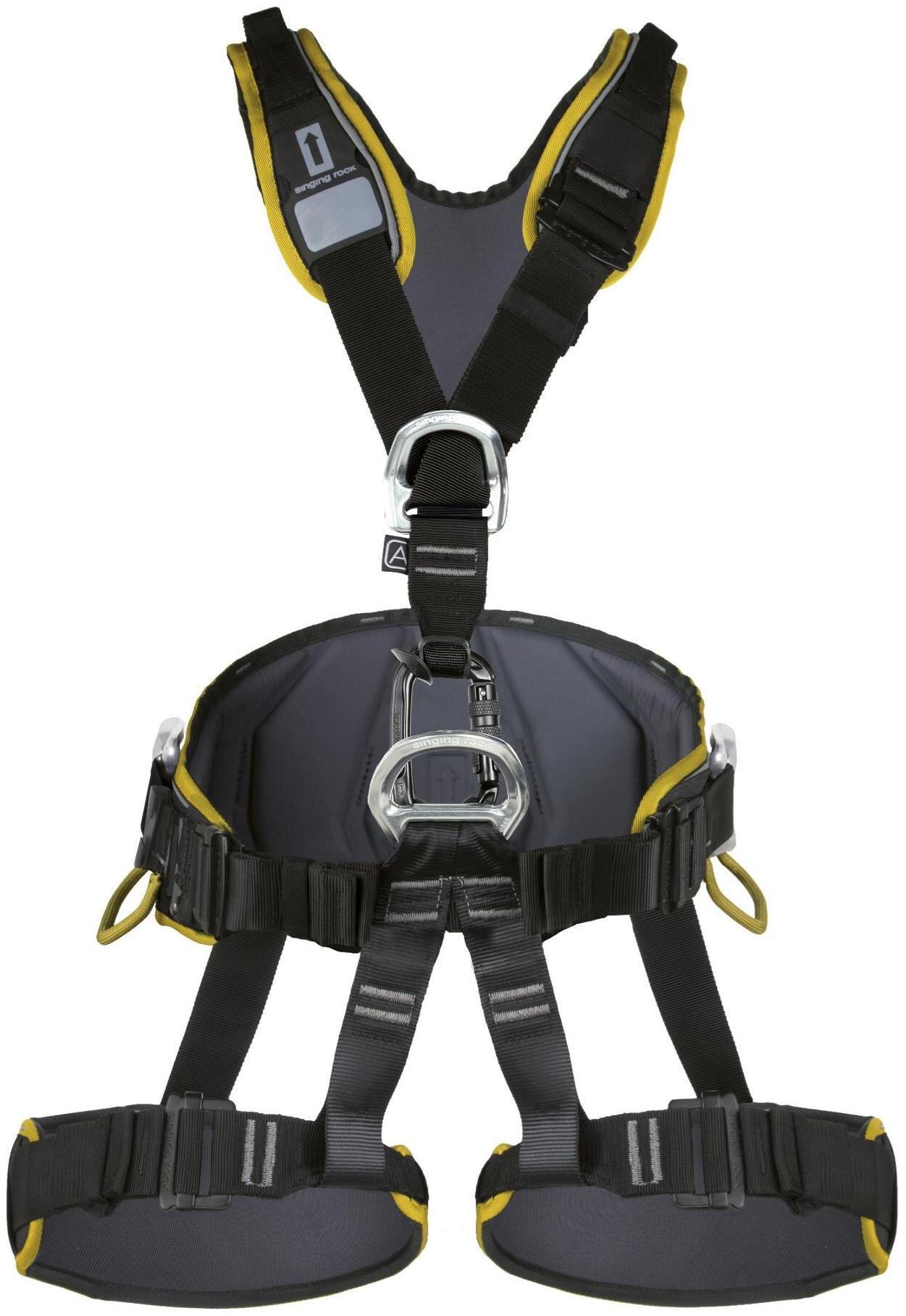 Обвязка Singing Rock Expert 3D Standart Black/Yellow M/L