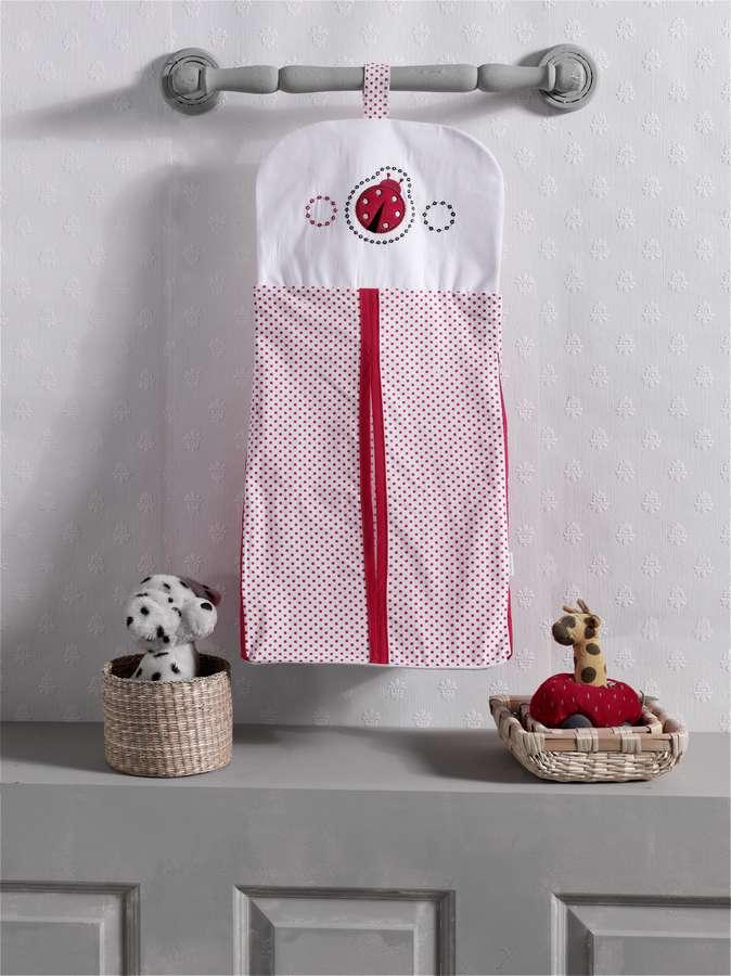 Купить Прикроватная сумка Kidboo Little Ladybug 30x65 см, арт. KIDB Kidboo,