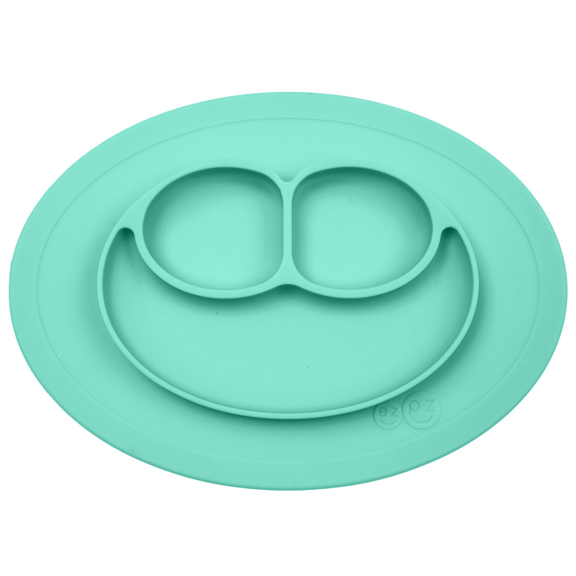 Купить Тарелка Ezpz Mini Mat, цвет аквамарин Ezpz,
