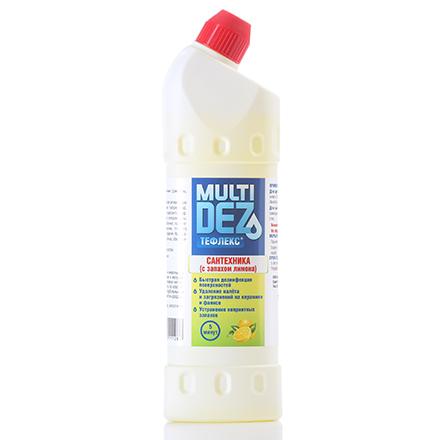 Ср во для сантехники Тефлекс MultiDez Лимон