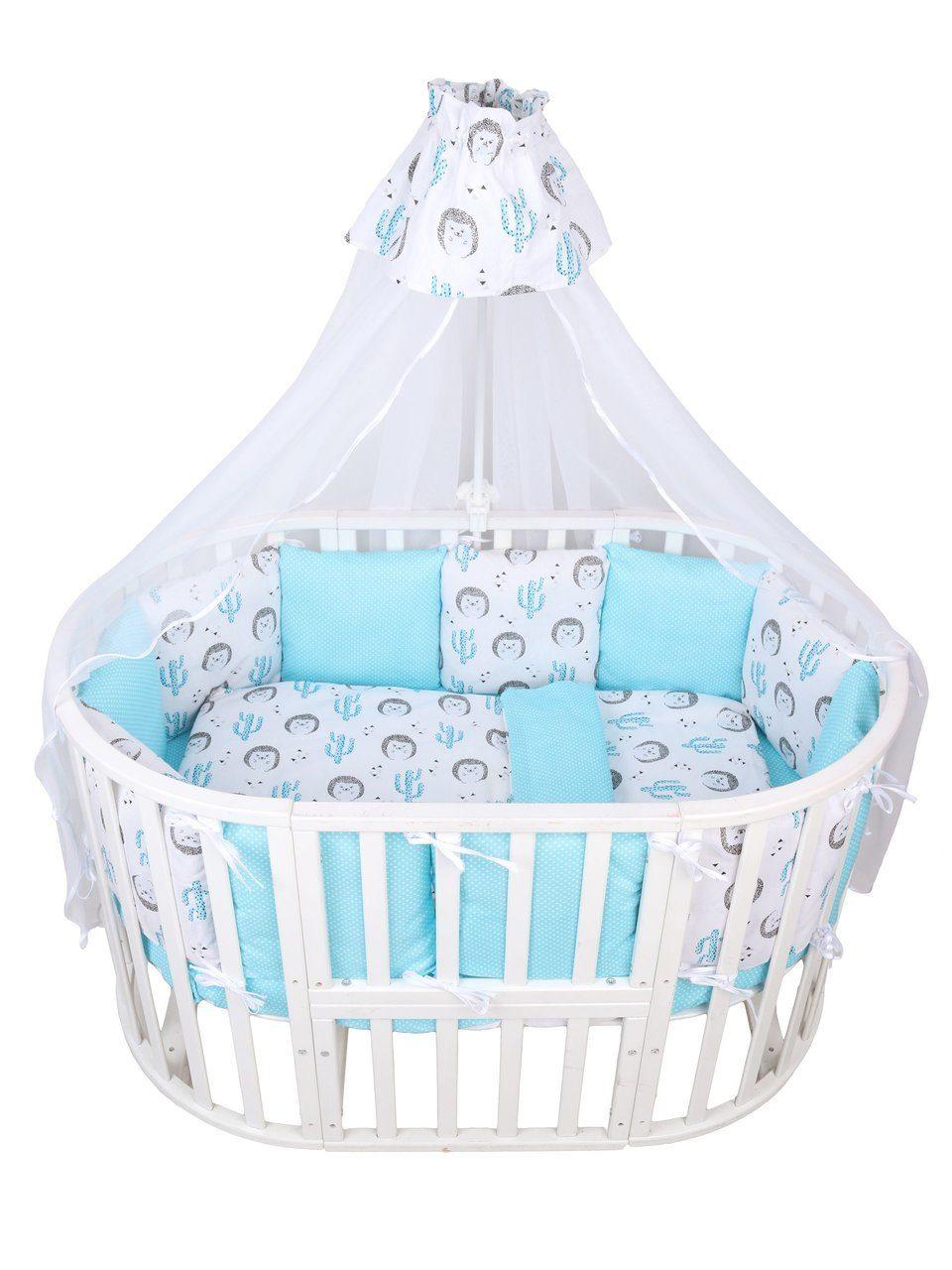 Купить Комплект в кроватку AmaroBaby Premium Маленький принц, 18 предметов,