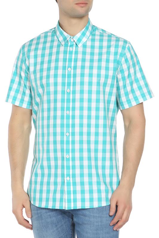 Рубашка мужская Tom Farr TM7015.10 зеленая M