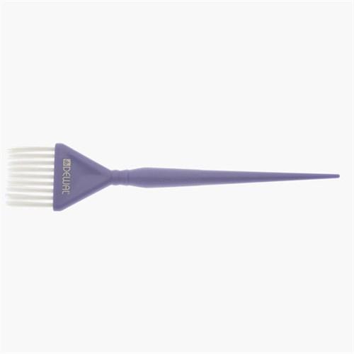 Купить Кисть для окрашивания Dewal, голубая, с белой прямой щетиной 40 мм