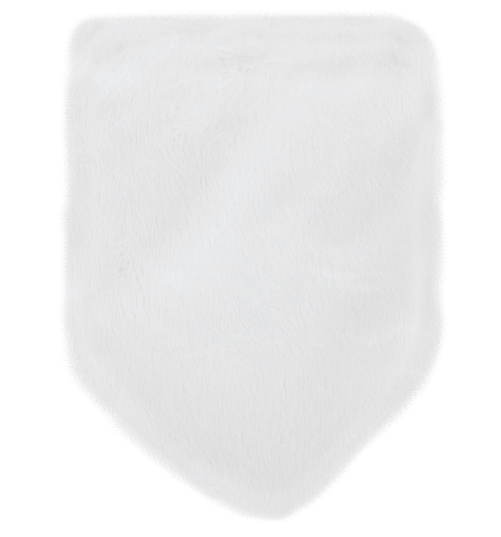 Шарф Krochetta, цвет: белый р.S 304