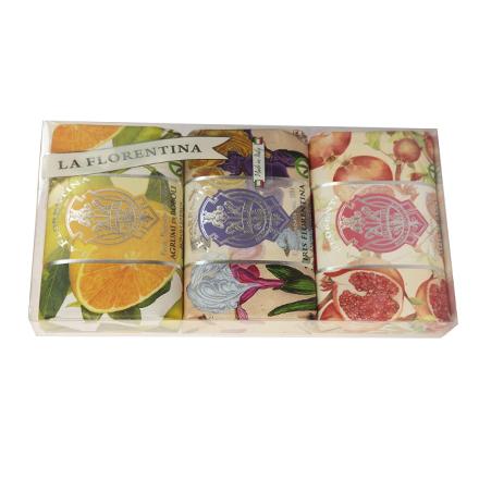 Купить Набор мыла La Florentina Citrus, Florentina Iris, Pomegranate