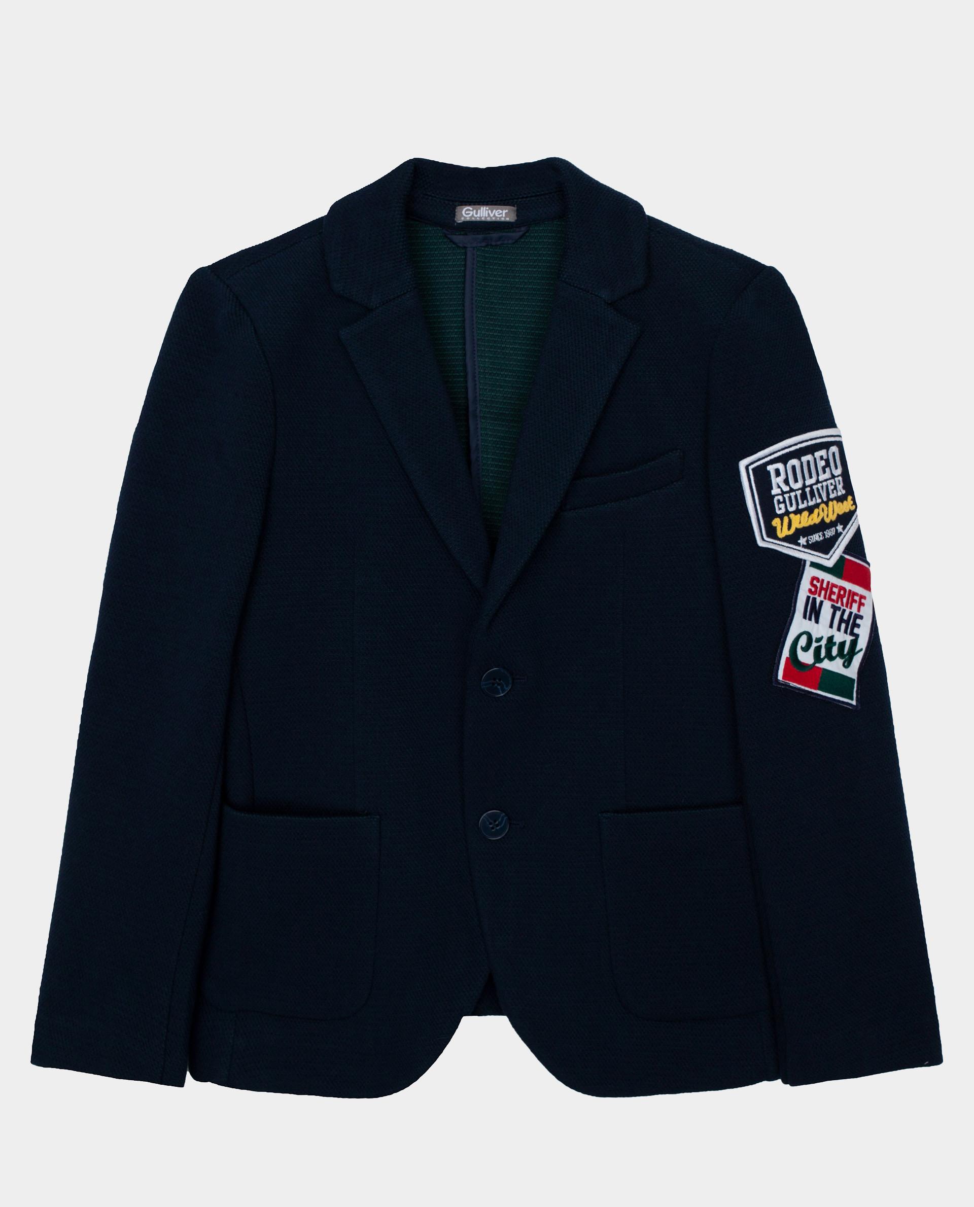 Купить Синий пиджак Gulliver размер 146 22011BJC1901,