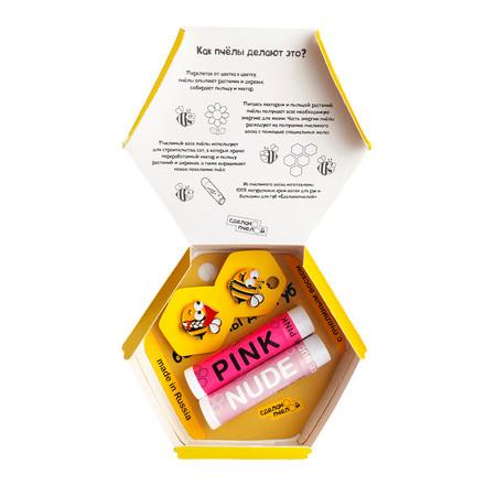 Купить Набор «Пчелы любят тебя» Сделанопчелой Pink & Nude