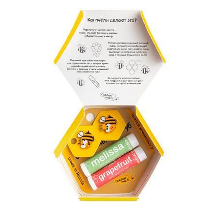 Купить Набор «Пчелы любят тебя» Сделанопчелой Grapefruit & Melissa