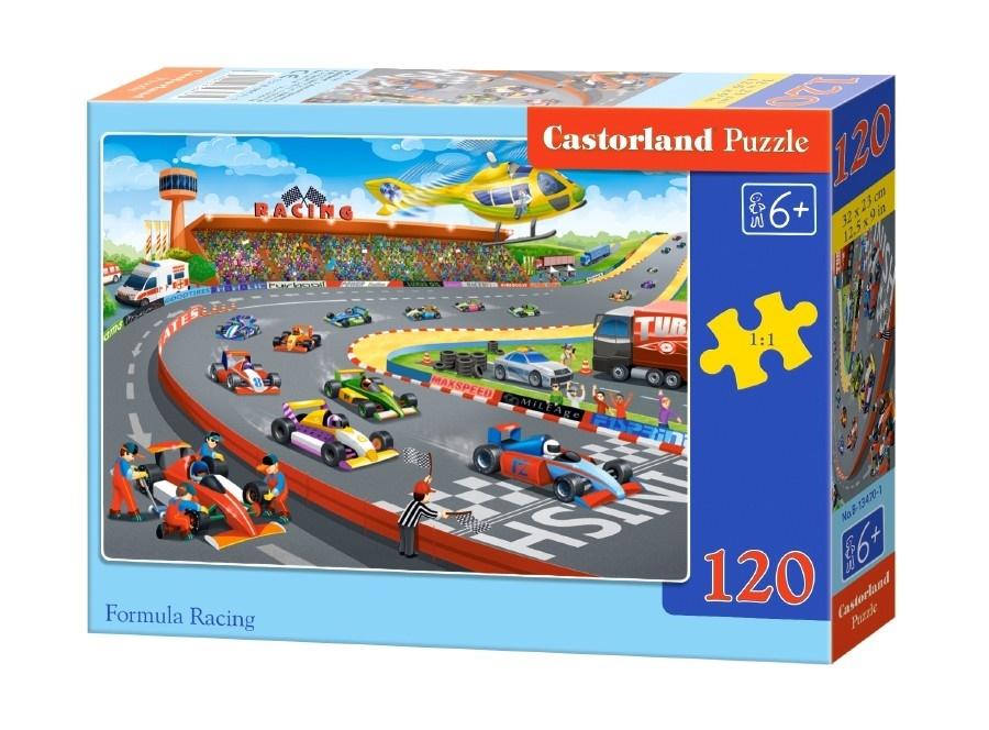 Купить Пазл Формула-гонки, 120 элементов, Castorland,