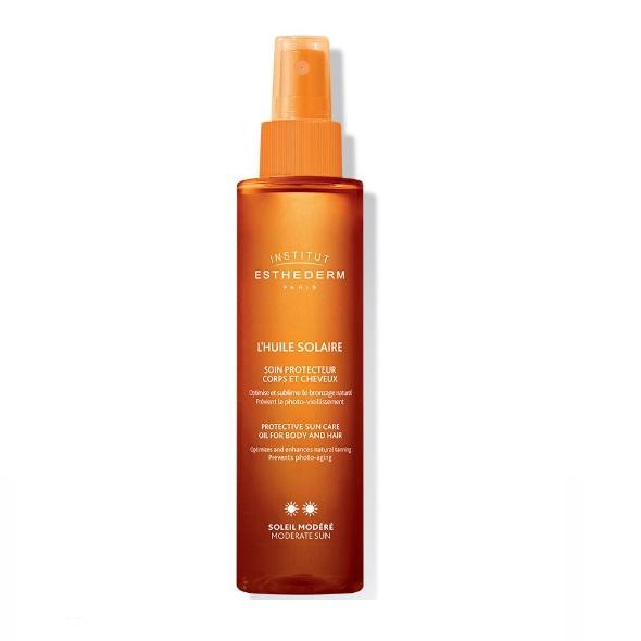 Солнцезащитное масло для тела и волос Institut