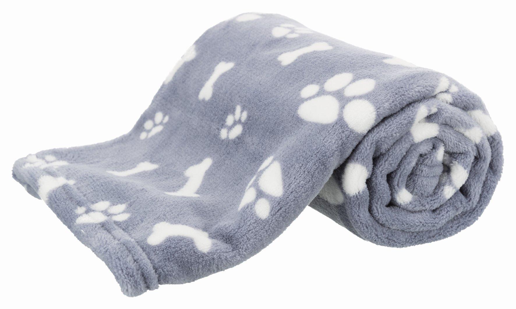 Одеяло для собак TRIXIE Kenny плюш, синий,