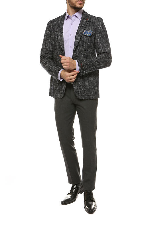 Пиджак мужской BARKLAND ФЕРМАН- серый 46-170