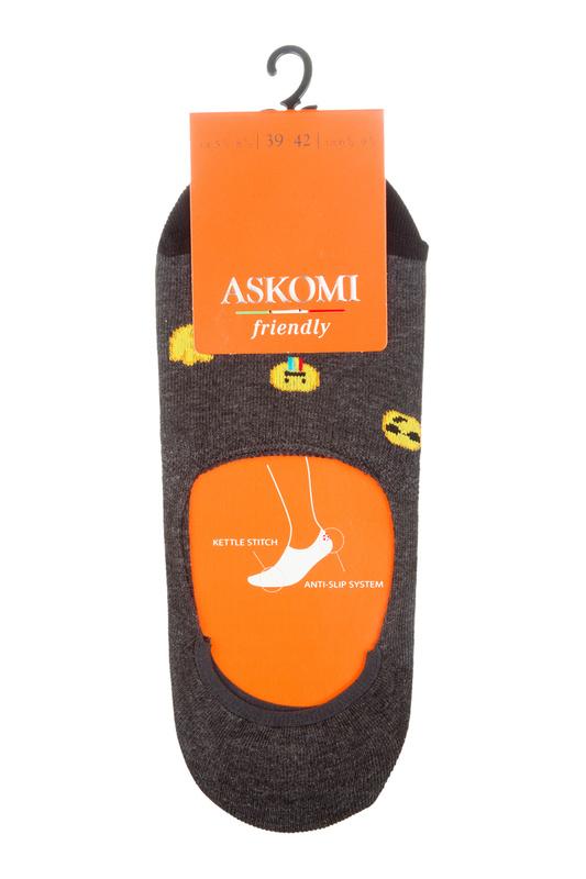 Подследники женские ASKOMI AF-I1300 серые 23