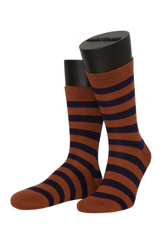 Носки женские ASKOMI AF-C7290 коричневые 23