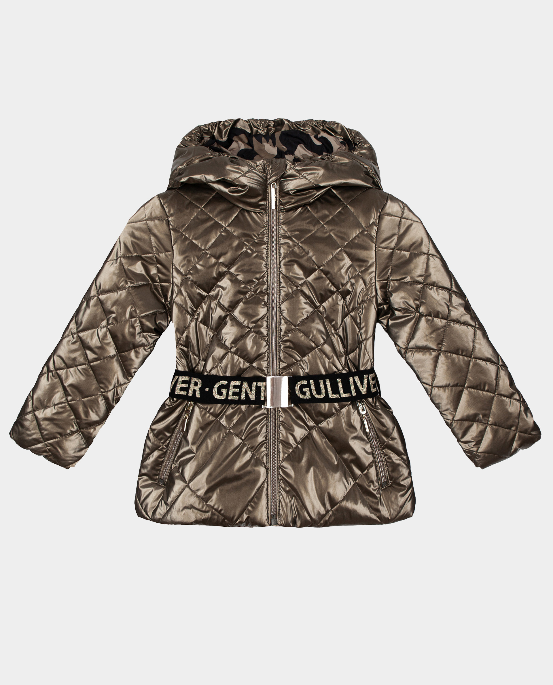 Бронзовая куртка демисезонная Gulliver размер 98 22001GMC4104