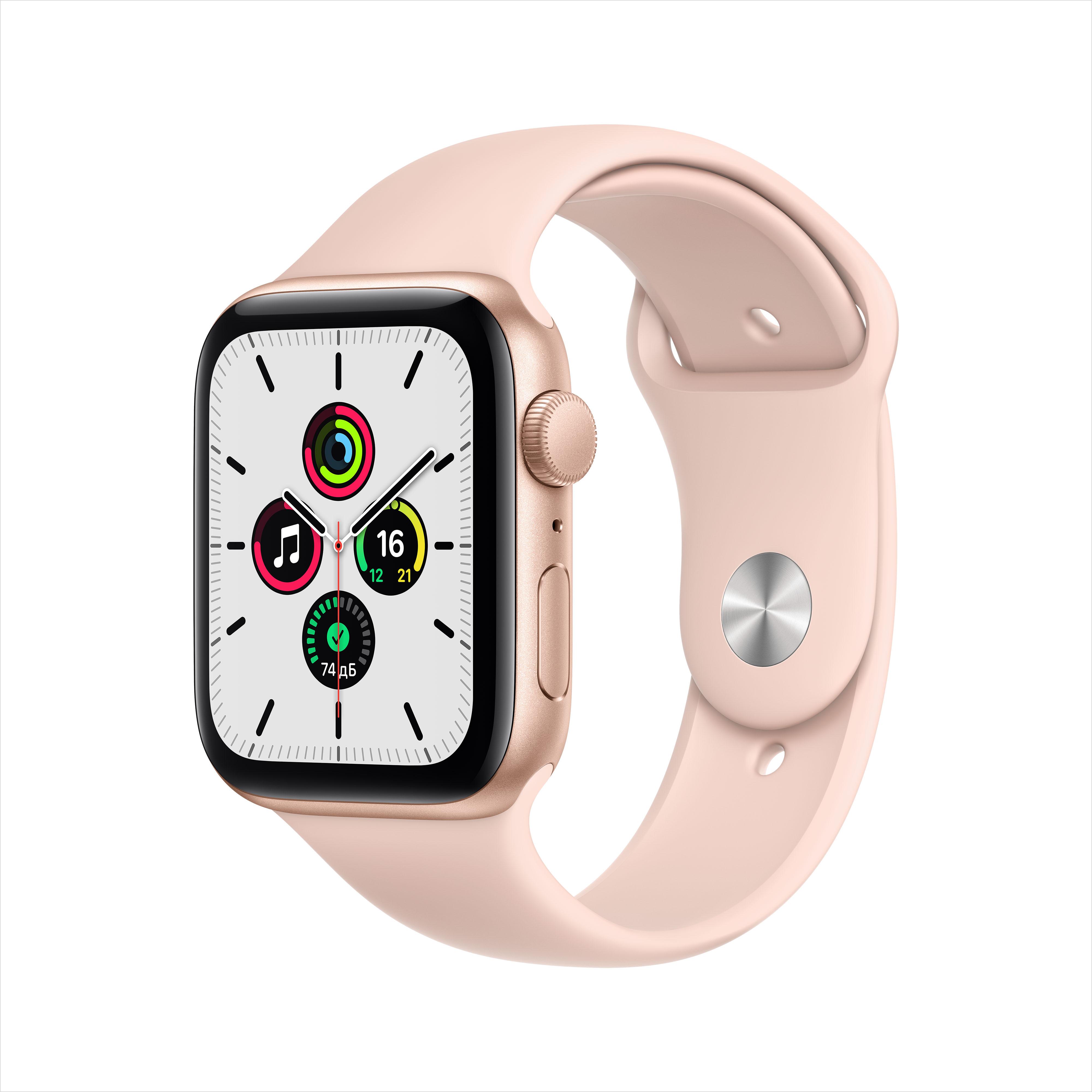 Смарт часы Apple Watch SE 44mm Gold