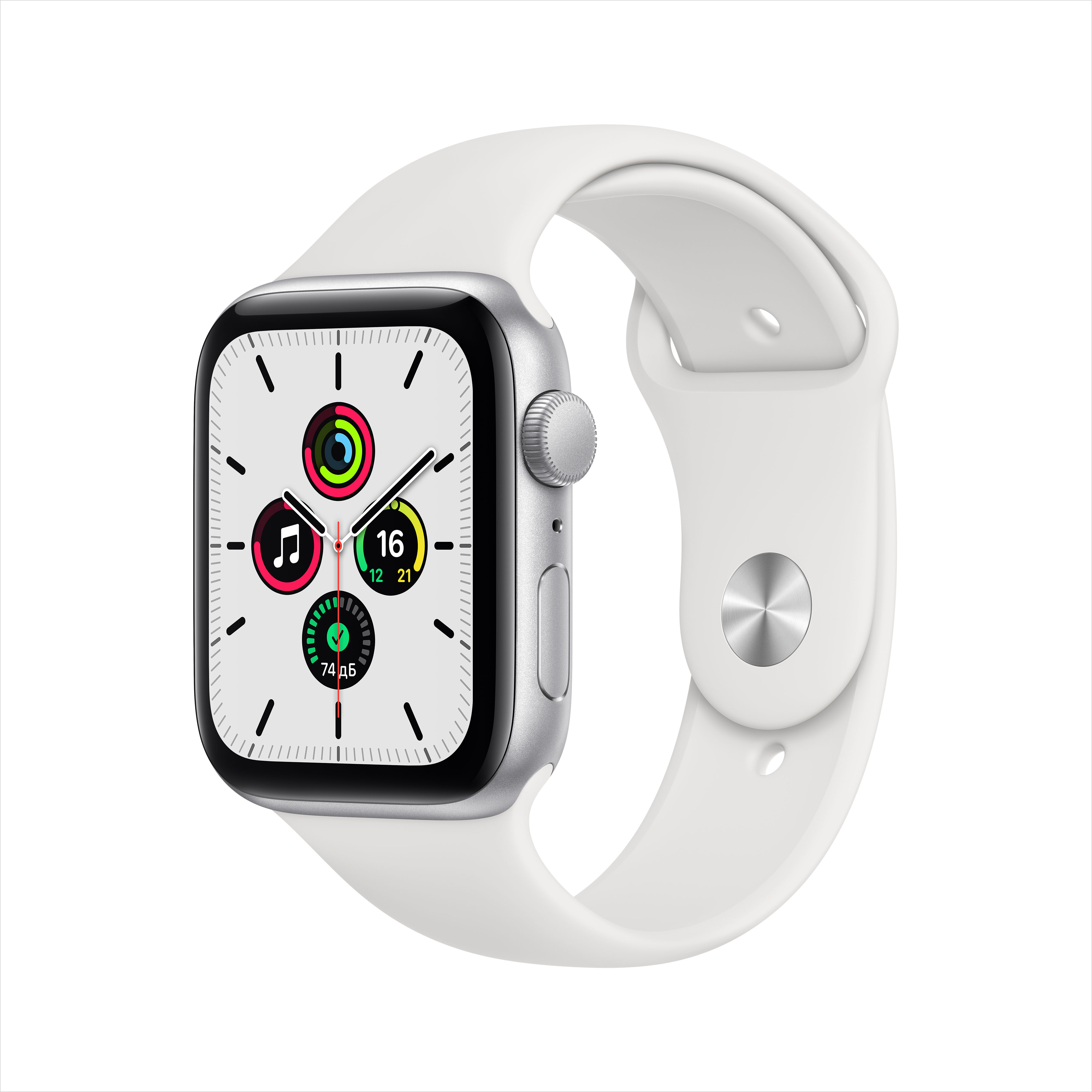 Смарт часы Apple Watch SE 44mm Silver
