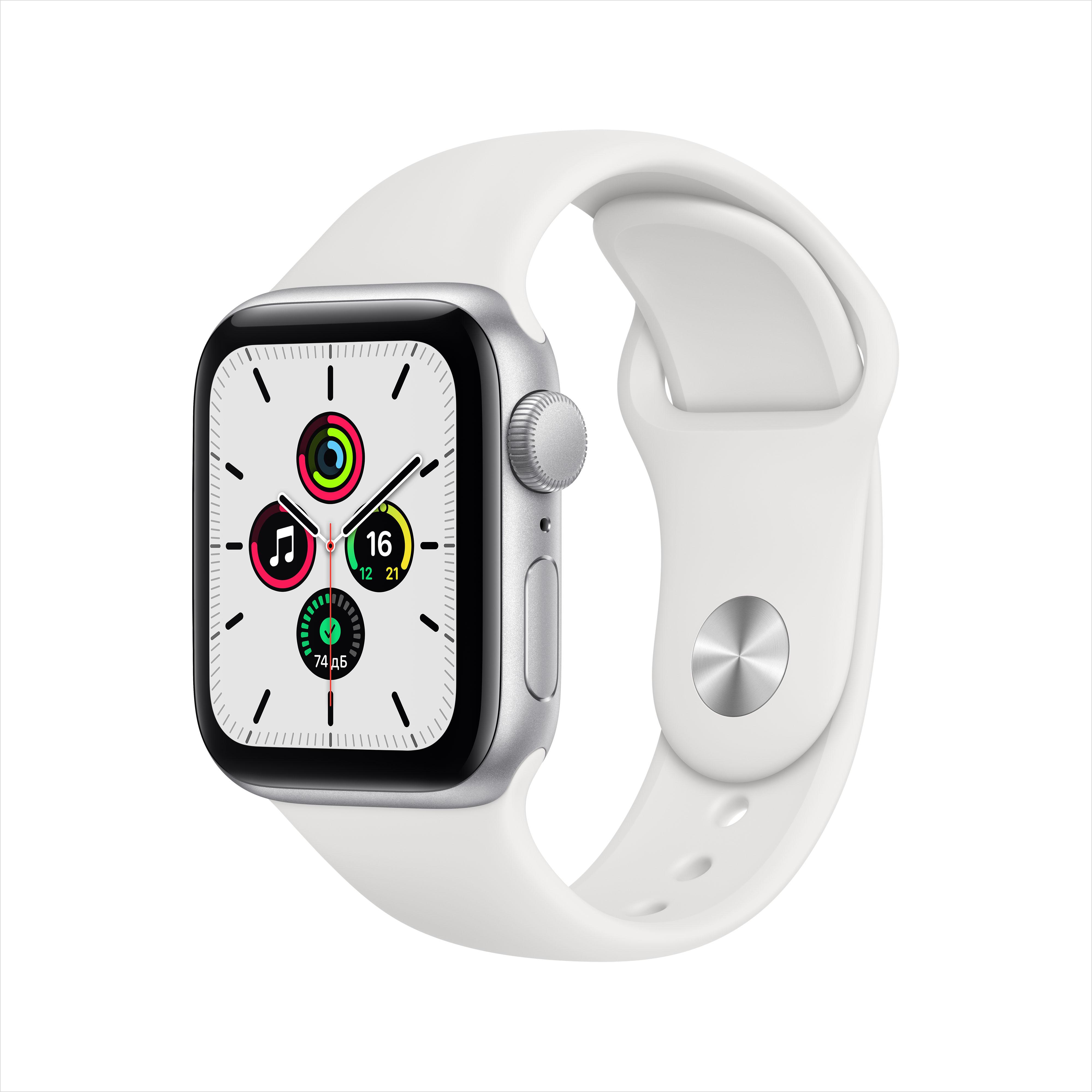 Смарт часы Apple Watch SE 40mm Silver