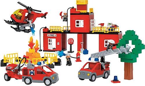 Купить Конструктор LEGO Education 9240 Пожарная станция, Конструктор LEGO Education Пожарная станция 9240,