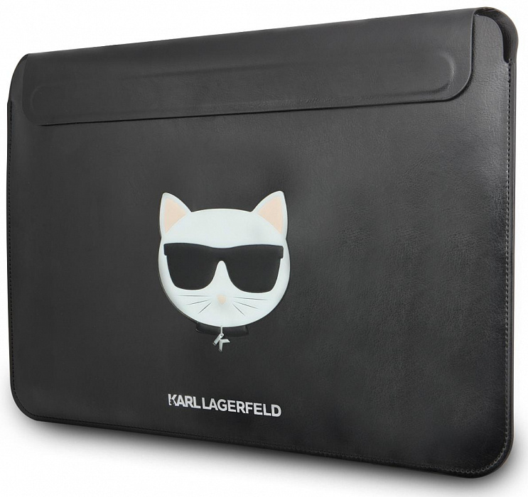 Чехол для ноутбука унисекс Karl Lagerfeld Choupette Sleeve Black