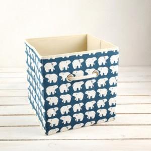 Коробка для хранения «Белые мишки», 27