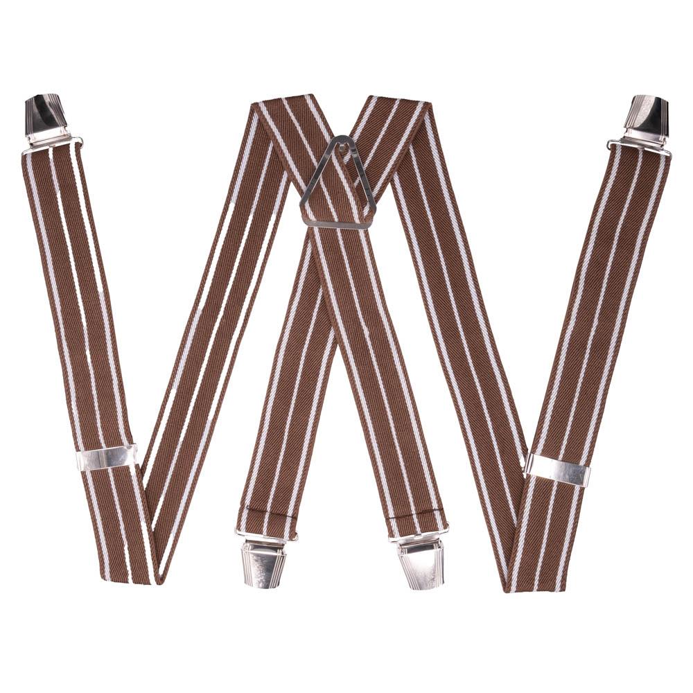 Подтяжки унисекс OTOKODESIGN 17-56408 коричневые