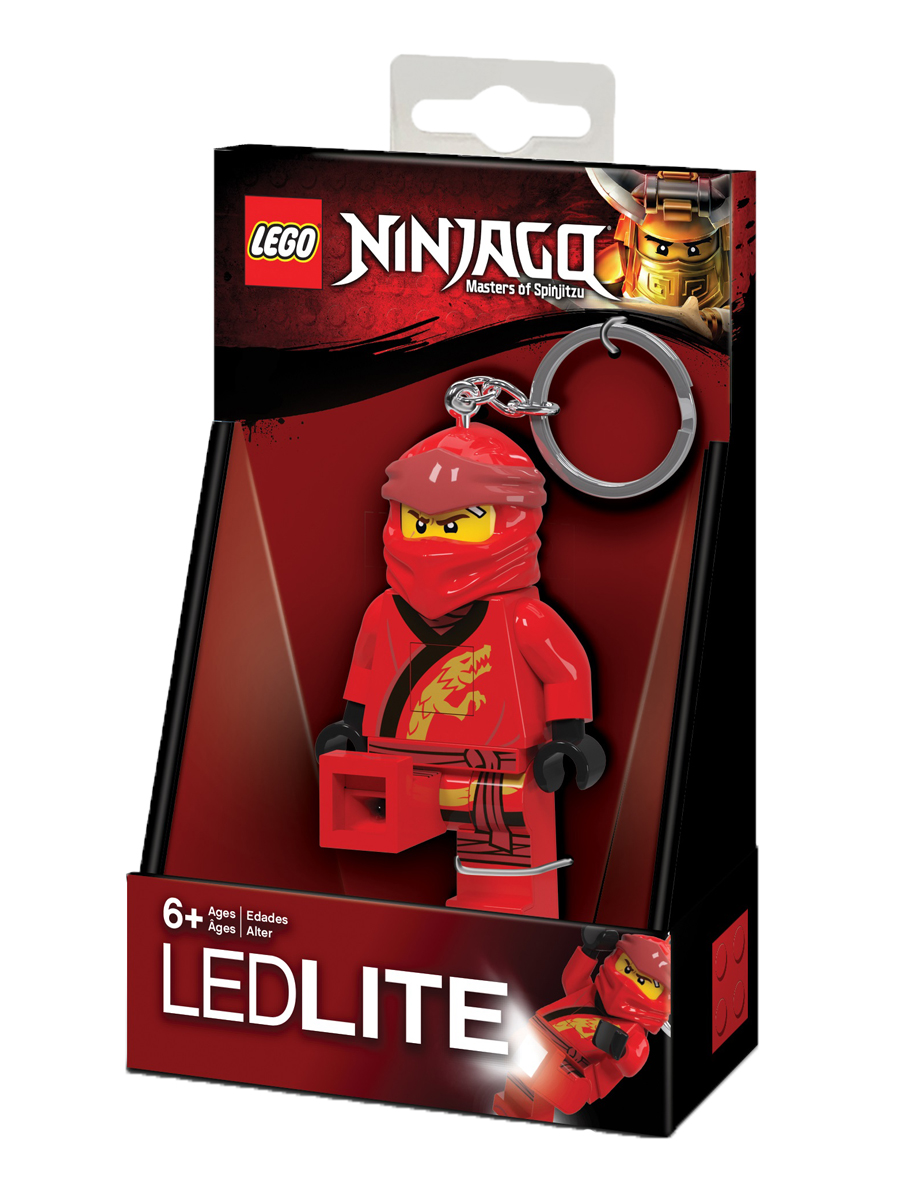 Купить Брелок-фонарик для ключей LEGO Ninjago Kai LGL-KE149,