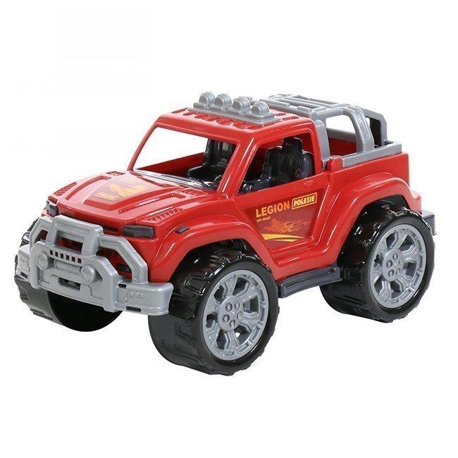 Купить Игрушка Полесье Автомобиль Легион №2 красный,