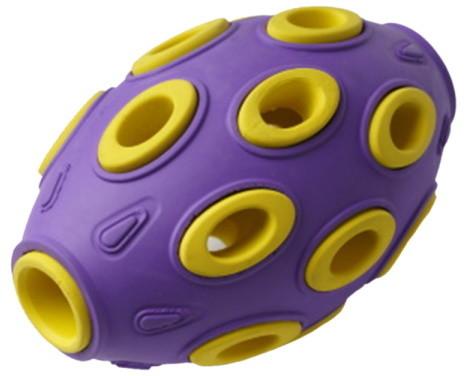 Развивающая игрушка для собак HOMEPET мяч регби,