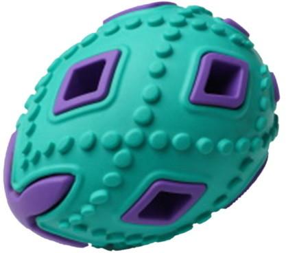 Развивающая игрушка для собак HOMEPET яйцо, зеленый,