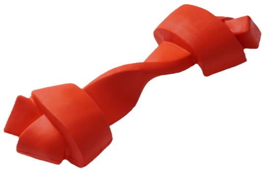 Развивающая игрушка для собак HOMEPET косточка, красный,