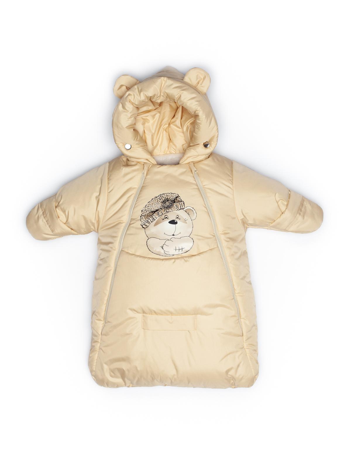 Комбинезон мешок Malek Baby Бежевый 306Ш