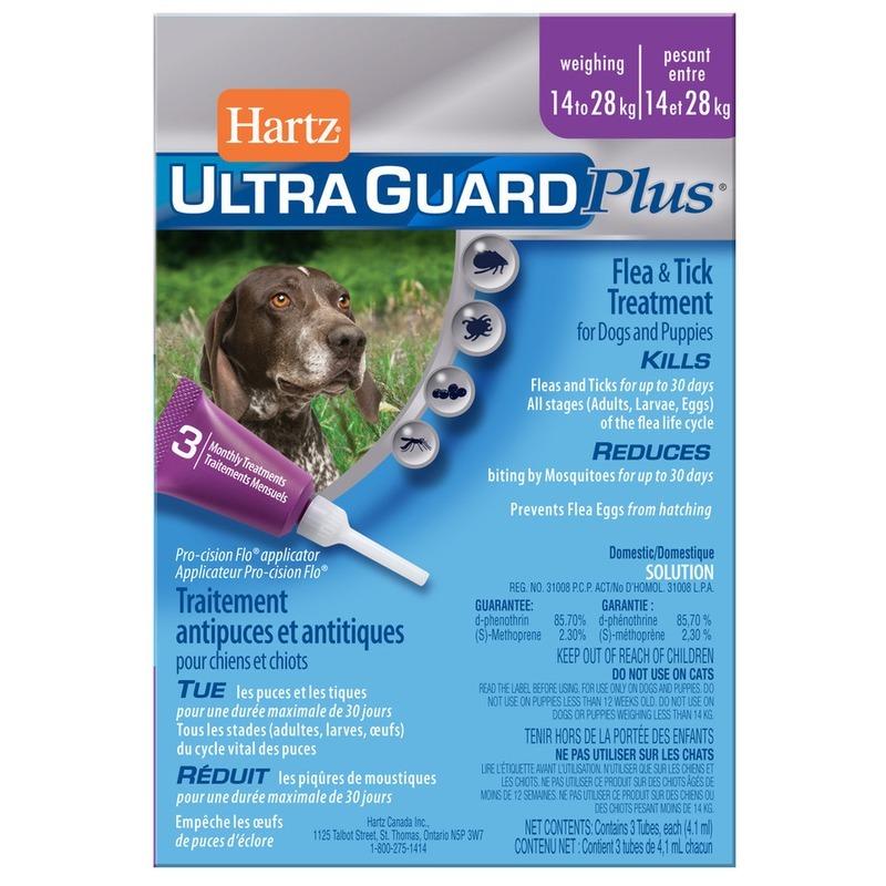 Капли для собак против паразитов Hartz Ultra