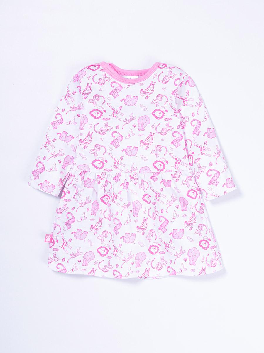 Платье детское КотМарКот розовый р.74