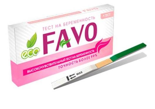 Высокочувствительный тест на беременность FAVO 1 шт.