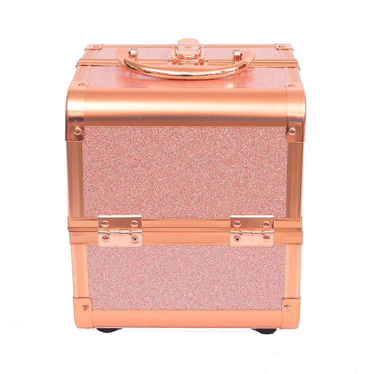 Бьюти-кейс для косметики Okira CWB 8015 розовый