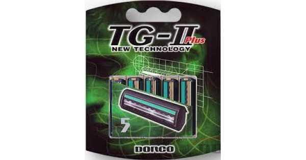 Дорко / Dorco TG-2 Plus - Сменные кассеты для бритья 5 шт.