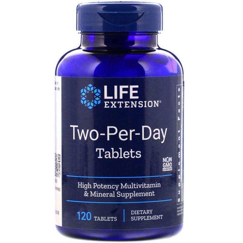 LEX-23151, Дважды в день Life Extension таблетки 120 шт.  - купить со скидкой