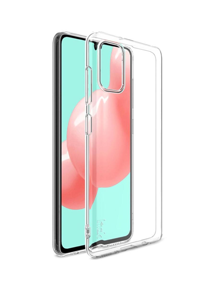 Чехол Mediagadget ESSENTIAL CLEAR COVER для Samsung Galaxy SM-A415FZ/A41 Clear