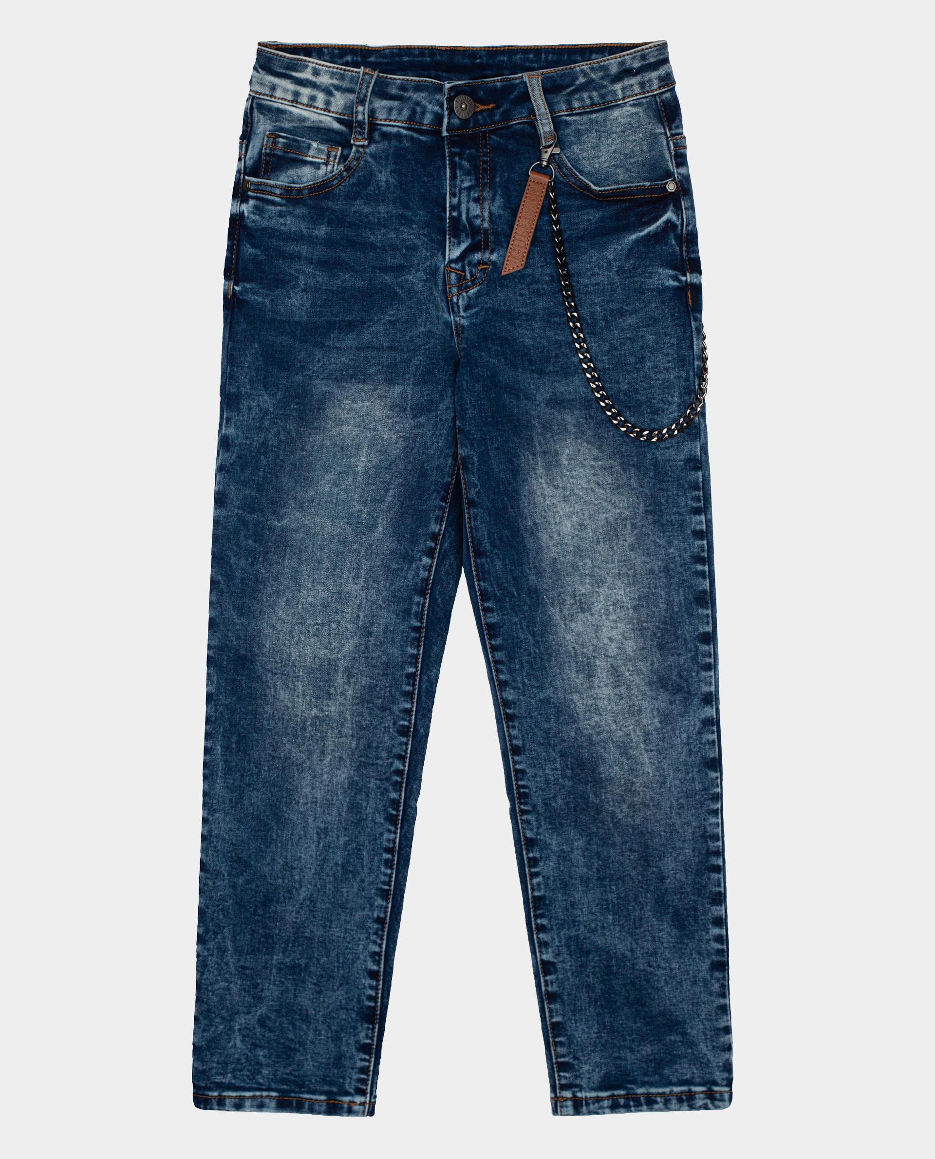 Синие джинсы Gulliver размер 158*76*66 22010BJC6302