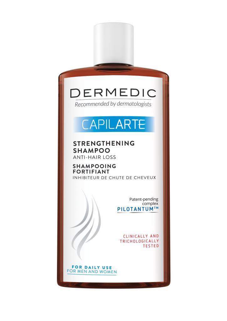 Купить Укрепляющий шампунь Dermedic КАПИЛАРТЕ против выпадения волос 300 мл